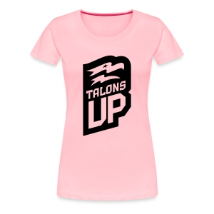Women's talons up tee - Women's Premium T-Shirt