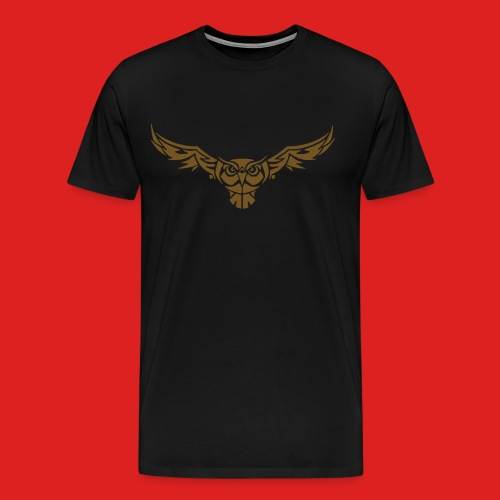 Gold Edition Nightowl T-Shirt - Men's Premium T-Shirt