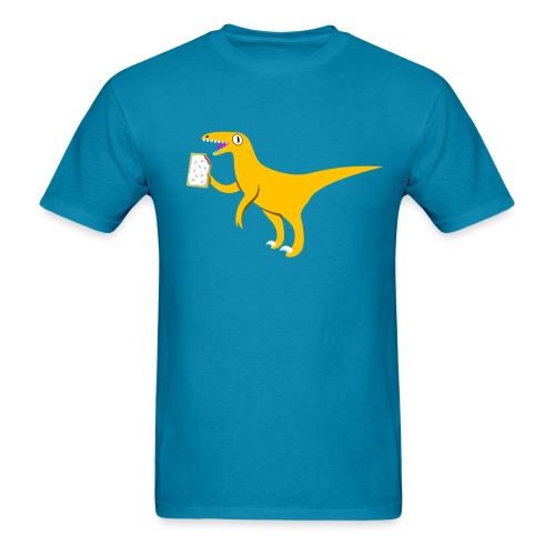 [velociraptor] - Men's T-Shirt