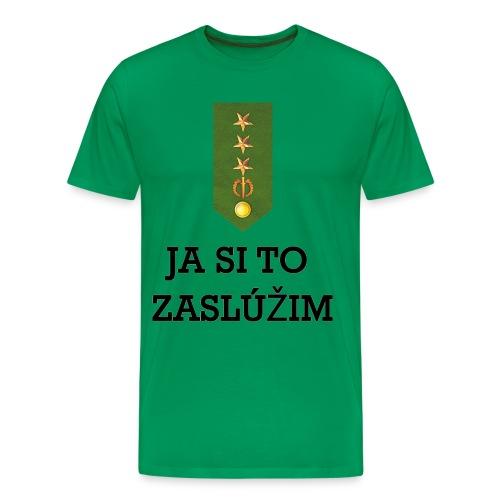 Zasluzim_1_g - Men's Premium T-Shirt
