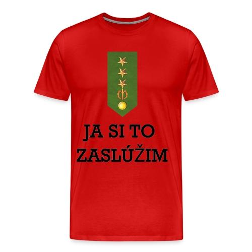 Zasluzim_1_r - Men's Premium T-Shirt