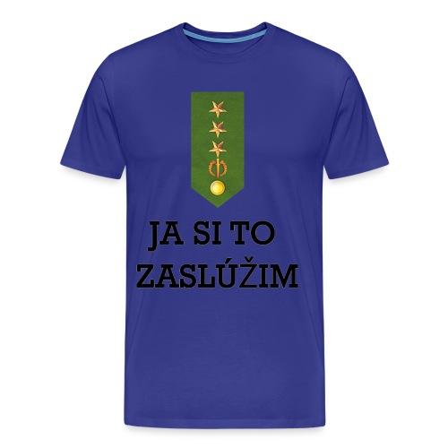 Zasluzim_1_b - Men's Premium T-Shirt