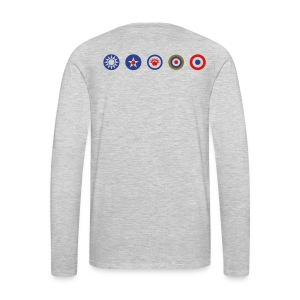 Mens Original 5 Long Sleeve shirt. - Men's Premium Long Sleeve T-Shirt