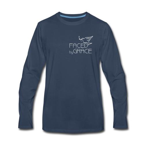 Men's Long Sleeve T Shirt Small Logo - Men's Premium Long Sleeve T-Shirt