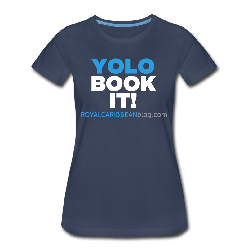 YOLO Book It! Women's Shirt - Women's Premium T-Shirt