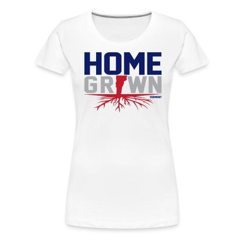 Homegrown Vermont Tee - Women's Premium T-Shirt