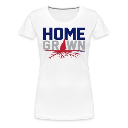 Homegrown N.H Tee - Women's Premium T-Shirt