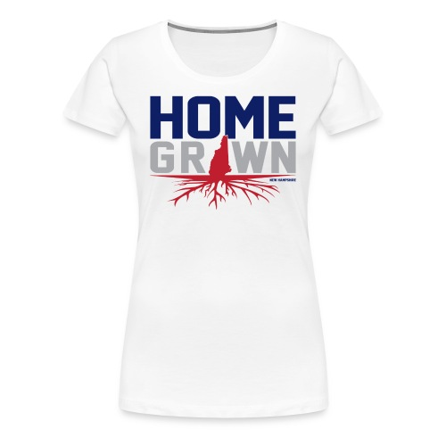 Homegrown N.H Tee - Women's Premium T-Shirt