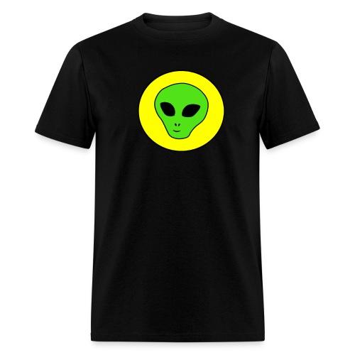 Alien Invasion Big Tee - Men's T-Shirt