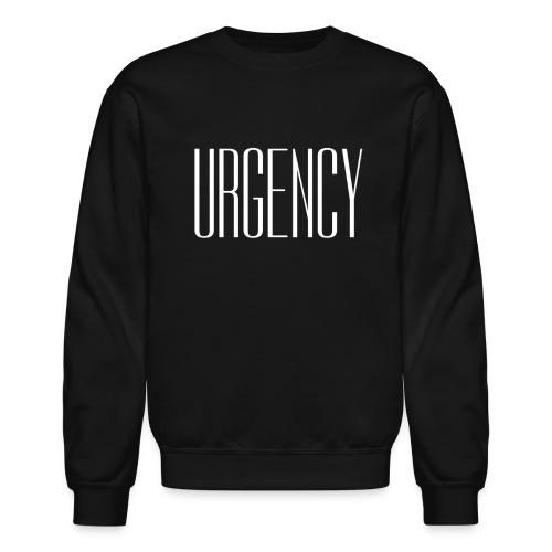 Unisex Urgency Crewneck Sweatshirt - Crewneck Sweatshirt
