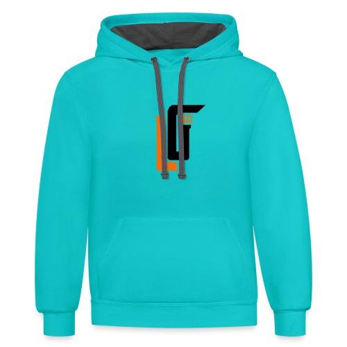 Lil Gucci Logo Hoodie - Mens - Contrast Hoodie