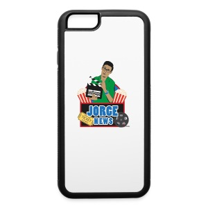 iPhone 6 Rubber Case JORGE NEWS : white/black - iPhone 6/6s Rubber Case