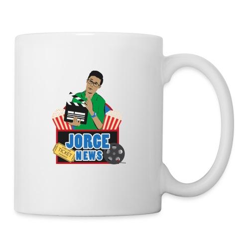 Tea Mug JORGE NEWS : white - Coffee/Tea Mug