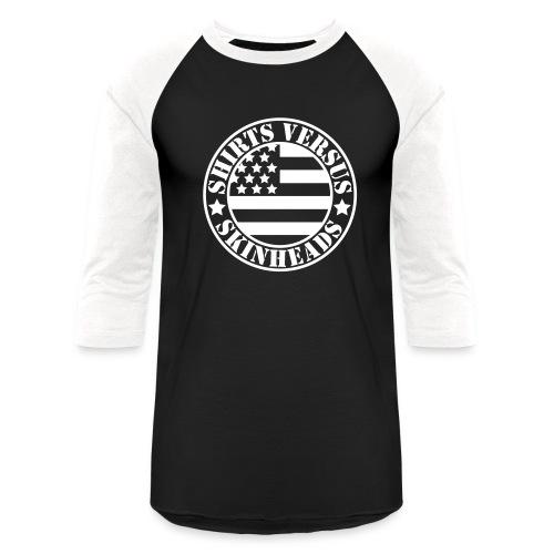 SVS Flag Logo - Baseball Tee - Baseball T-Shirt