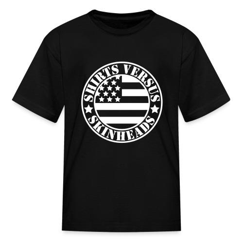 SVS Flag Logo - Children's Short-Sleeved T-Shirt - Kids' T-Shirt