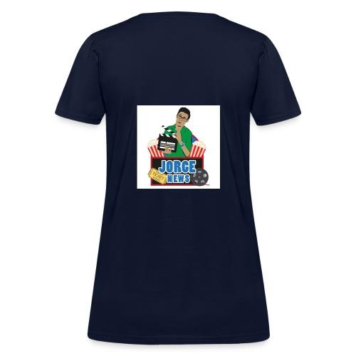 Women's T Shirt JORGE NEWS : navy - Women's T-Shirt