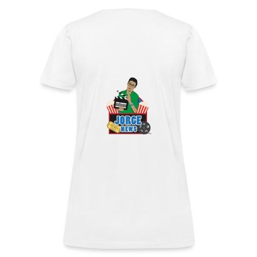 Women's T Shirt JORGE NEWS : white - Women's T-Shirt