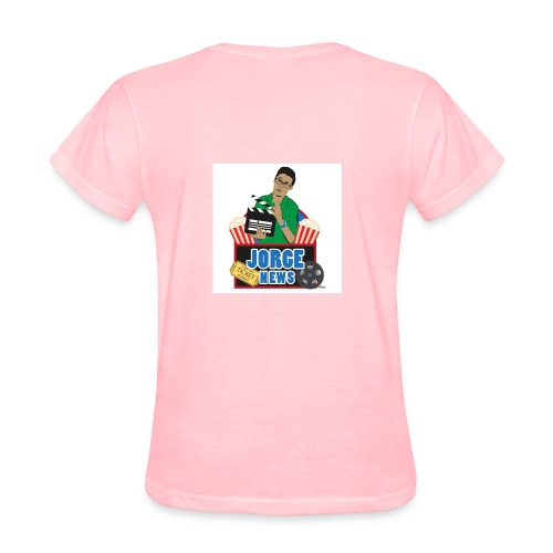 Women's T Shirt JORGE NEWS : pink - Women's T-Shirt