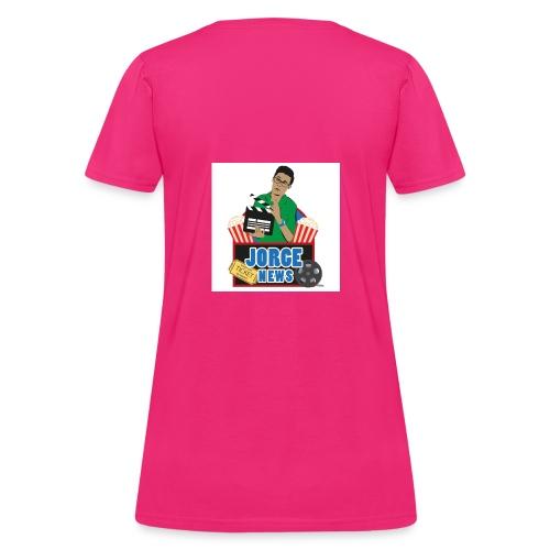 Women's T Shirt JORGE NEWS : fuchsia - Women's T-Shirt