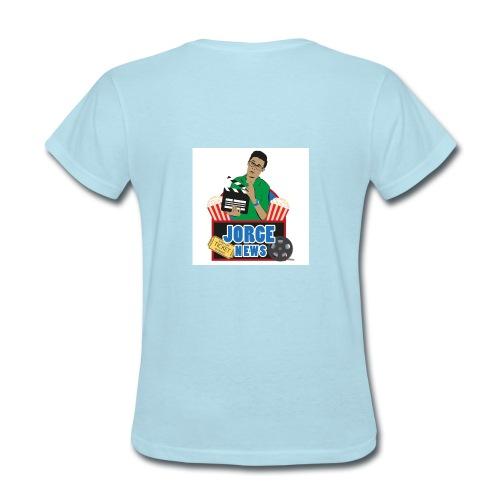 Women's T Shirt JORGE NEWS : powder blue - Women's T-Shirt