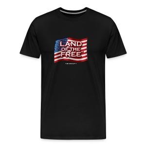 Land of the Free* - Men's Premium T-Shirt