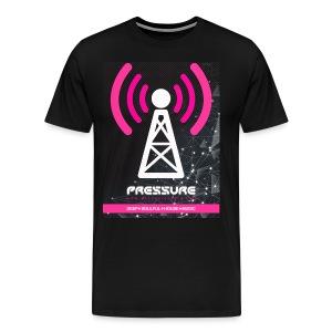 Broadcast Tower, Personalised (Dark Garment Print) - Men's Premium T-Shirt