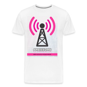 Broadcast Tower, Standard (Light Garment Print) - Men's Premium T-Shirt