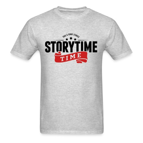Storytime Time - Men's T-Shirt