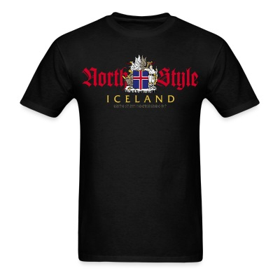 North Style: Iceland - Men's T-Shirt