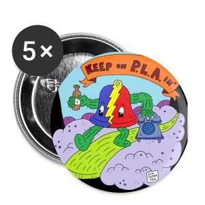 Keep on Playin'  - Large Buttons