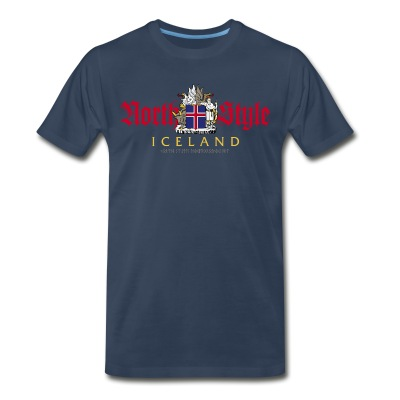 North Style: Iceland - Men's Premium T-Shirt