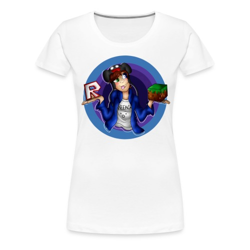 Roblox vs Minecraft   Women's Premium T-Shirt - Women's Premium T-Shirt