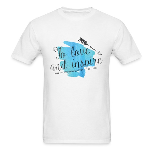 TO LOVE AND INSPIRE Logo T-Shirt - Men's T-Shirt