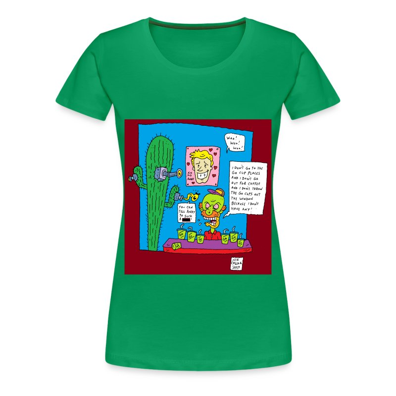 Go Cup - Women's Premium T-Shirt