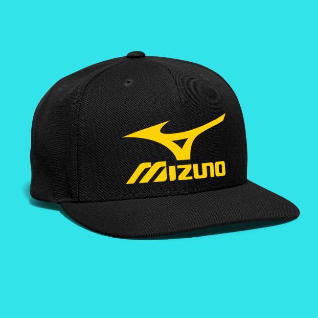 157f5fe39f325 Mizuno Sports (gold logo) Black Baseball Hat