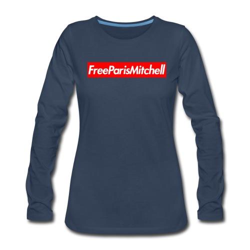 FreeParisMitchell Women's Long Sleeve Tee - Women's Premium Long Sleeve T-Shirt