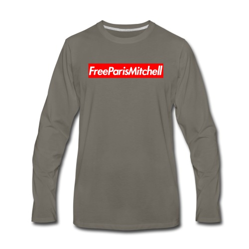 FreeParisMitchell Men's Long Sleeve Tee - Men's Premium Long Sleeve T-Shirt