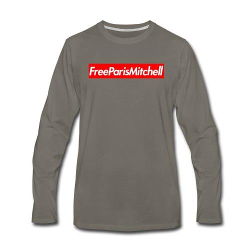FreeParisMitchell Men's Long Sleeve Tee - Men's Premium Long Sleeve T-Shirt