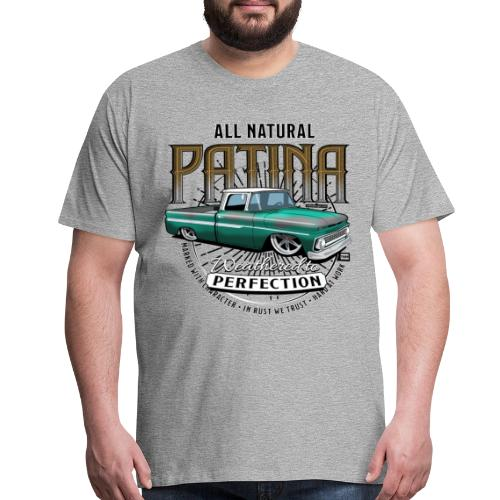 Natural Patina Green PREMIUM ART Tee - Men's Premium T-Shirt