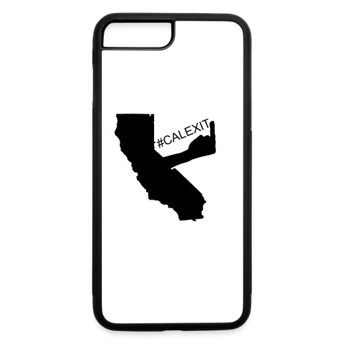 Calexit iPhone 7+ Case - iPhone 7 Plus/8 Plus Rubber Case