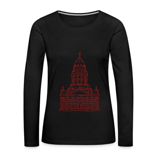 French Cathedral Berlin - Women's Premium Long Sleeve T-Shirt