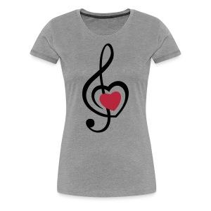 Music Love - Women's Premium T-Shirt