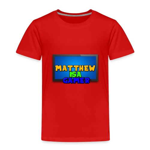 Matthewisagamer T-Shirt - New Look 2 - Toddler Premium T-Shirt