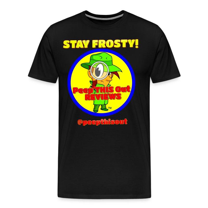 Main_Logo_Stay_Frosty_YELLOW_012817.png - Men's Premium T-Shirt