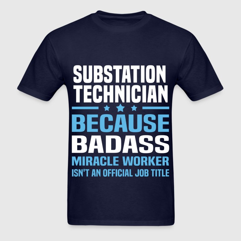 Substation Technician Tshirt - Men's T-Shirt