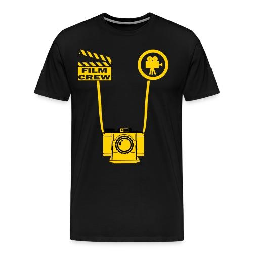 Men's Film Crew Style T-Shirt - Men's Premium T-Shirt