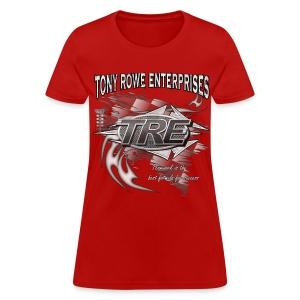 TRE Drag Racing Teamwork - Women's T-Shirt