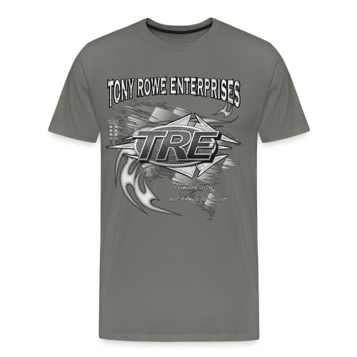 TRE Drag Racing Teamwork - Men's Premium T-Shirt