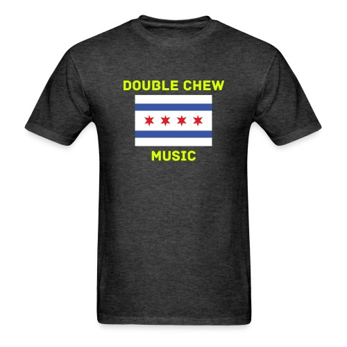 DCM Mens Chicago Flag shirt - Men's T-Shirt