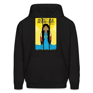 Water is Life #NoDAPL Hoody - Men's Hoodie